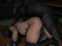 Iq Gets Cum In By Her Dog (weebstank) [r6 Siege][dog Wolf]3D Bestiality