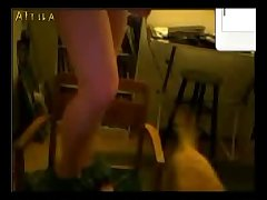 Ashly Play In Yahoo With Dog Webcam (part 1)